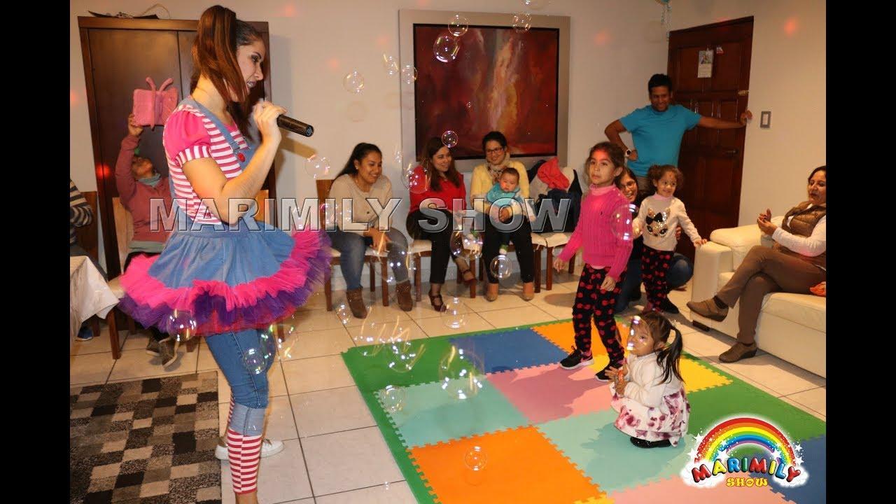 Show Infantil Con Belen Pelo De Oro Marimily Show Youtube