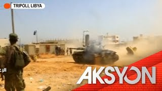 Rocket barrage sa Libya