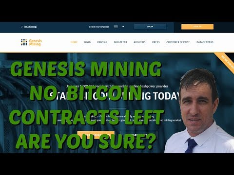 Genesis Mining Where Are The Bitcoin Mining Contracts