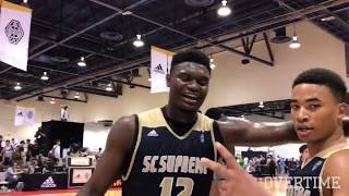 Zion Williamson Is CRUSHING VEGAS! Dominates In Rematch With Immanuel Quickley!