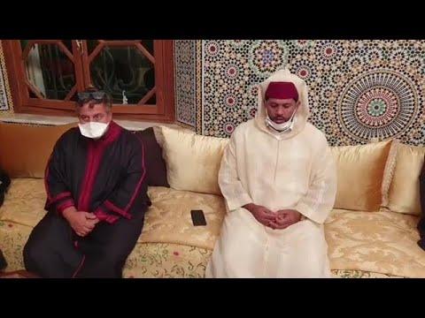 حزن وألم في ليلة عزاء الفقيد ريحان إبن الدكتور التازي