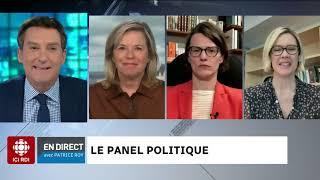 Le panel politique du 7 avril 2021