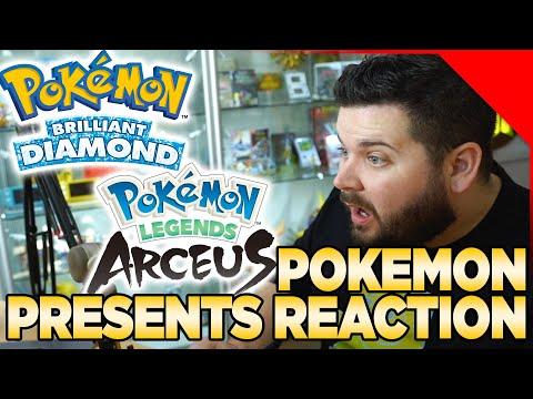 Pokemon Brilliant Diamond & Shining Pearl & Pokemon Legends Arceus Reaction   Austin John Plays