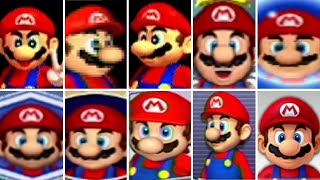Evolution of Mario in Mario Party Games