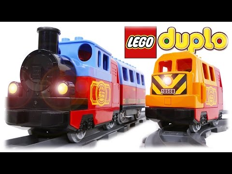 LEGO Duplo Train 10507 + 10508 COMPILATION