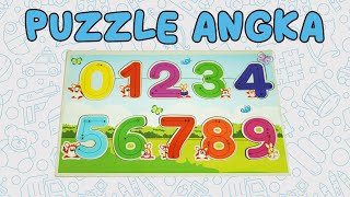Mainan Edukasi Anak Puzzle Kayu Oyo Ogy Angka Number 123 Wooden