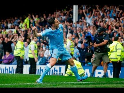 Samir Nasri goal vs Everton - Matchday 3
