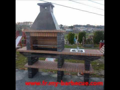 barbecue en pierre reconstitu e barbecue jardin pierre. Black Bedroom Furniture Sets. Home Design Ideas