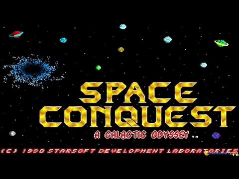 Space Conquest gameplay (PC Game, 1989) - YouTube