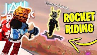 Jailbreak ROCKET RIDING!? Can You ROCKET RIDE!? | Roblox Jailbreak NEW UPDATE