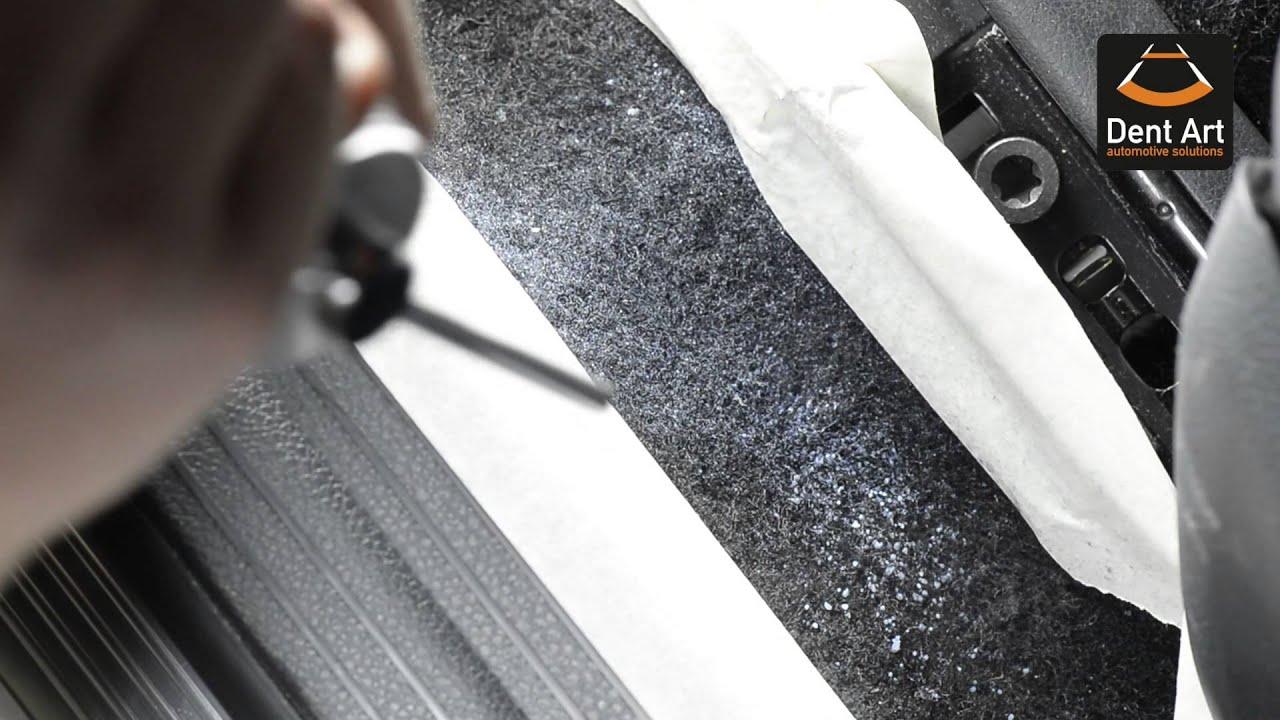 dent art smoke damage repair car interior youtube. Black Bedroom Furniture Sets. Home Design Ideas