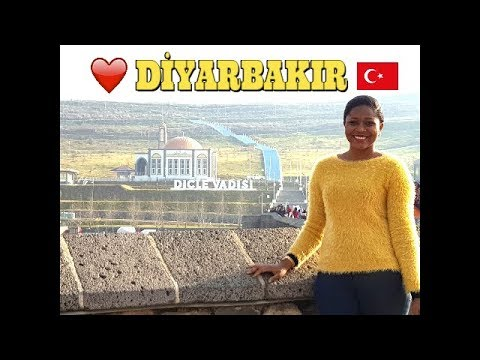 DIYARBAKIR : A DAY IN TURKEY'S MOST CONSERVATIVE CITY 🇹🇷 (A Black Girl's Experience)