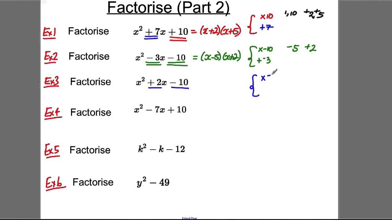 Gcse Revision Video 7