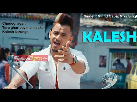 Kalesh Full Video Song|Making Video| Millind Gaba, Mika Singh | I Love My India ILI | New Songs 2018
