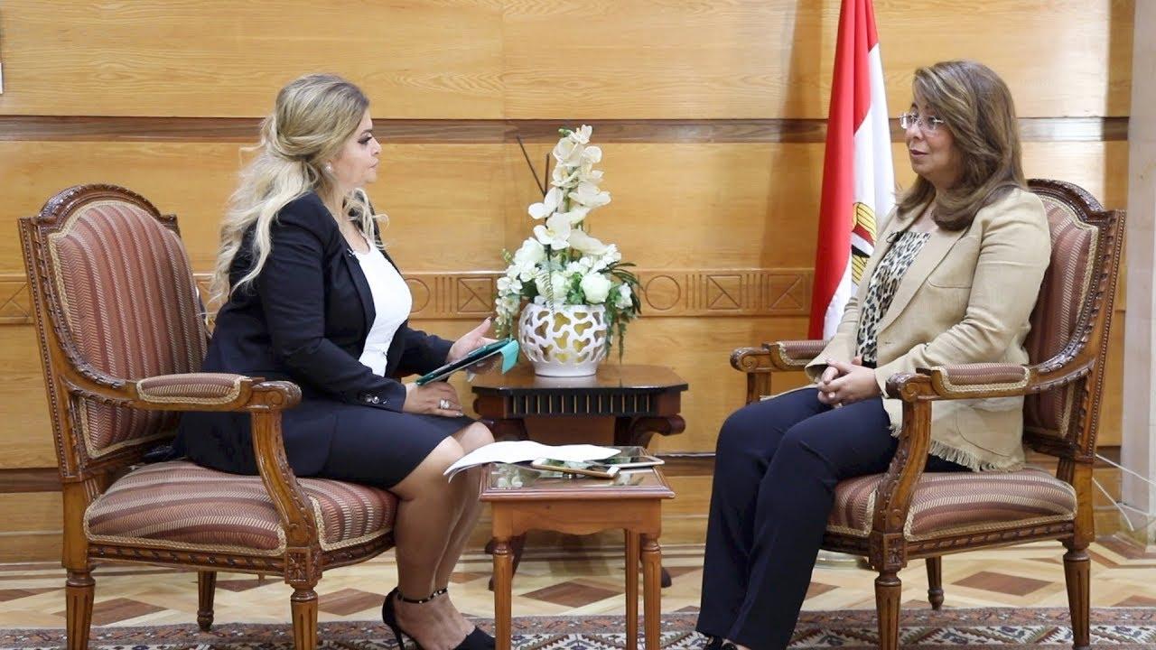 الوطن المصرية:غادة والي تشرح تفاصيل برنامج  شباب الخدمة العامة