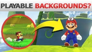 Exploring EVERY 3D World Background as a Level! | Super Mario Maker 2