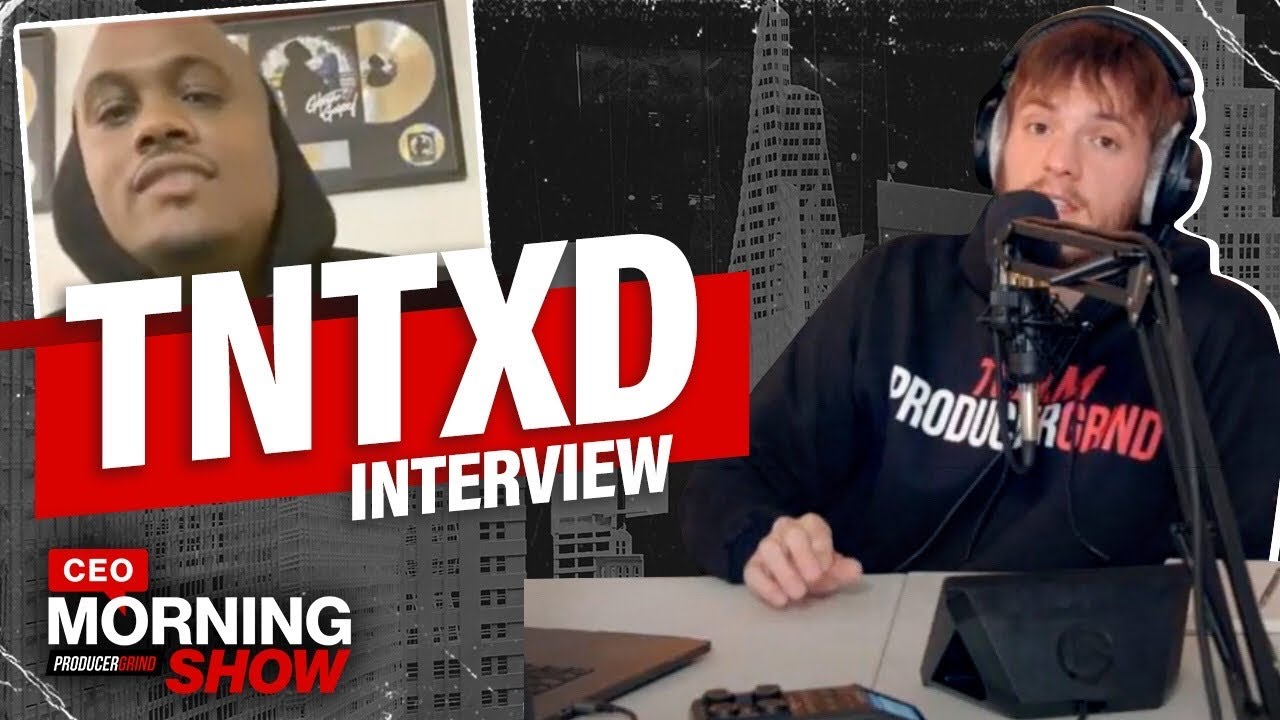 TNTXD Talks How Selling Beats Online Pays More Than Industry + Come Up Story | CEO Morning Show #37