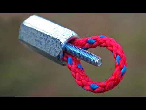 10 EASY USEFUL IDEAS WITH ROPE
