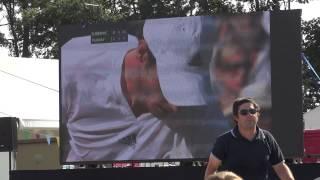Andy Murray - Wimbledon - Jodrell Bank Transmission - 7th July 2013