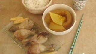 Курица в дыне  Китайская кухня