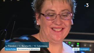 Sylvie Pullès, la Madonna de l'accordéon, fête ses 35 ans de carrière . (2 ème partie). France 3
