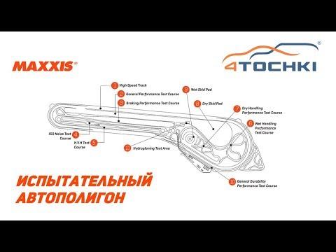 Испытательный автополигон Maxxis