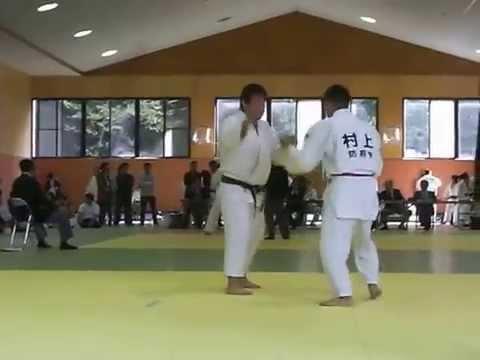 柔道試合2011☆団体戦☆1回戦 払い腰