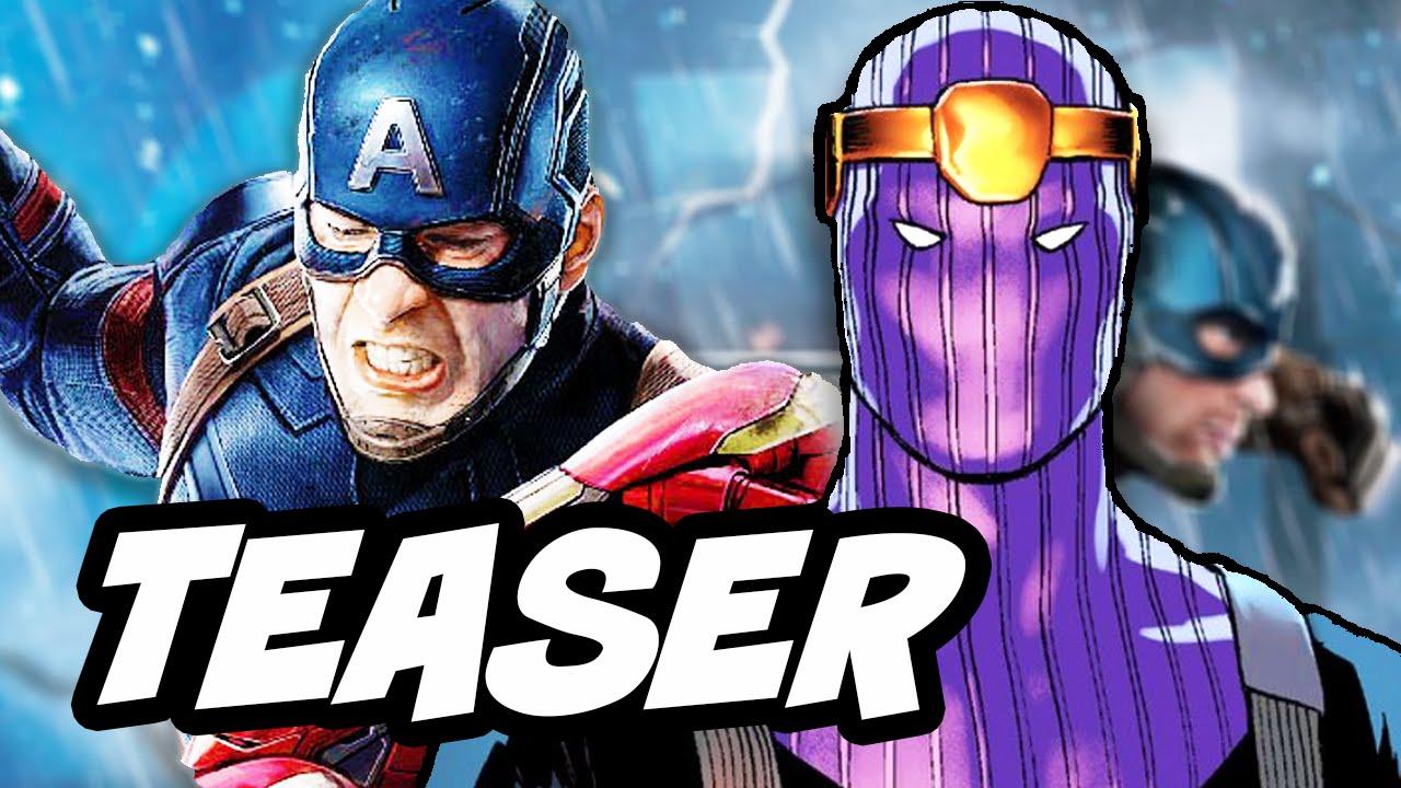 captain america civil war baron zemo teaser and marvel