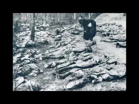 (WARNING-GRAPHIC) Katyn Forest Massacre - Soviet Union - NKVD (SECRET POLICE) Joseph Stalin.