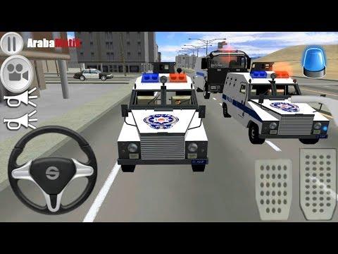 Türk Çevik Kuvvet Oyunu 3D //  Zırhlı Polis Arabası Ve Toma Sürme Oyunu