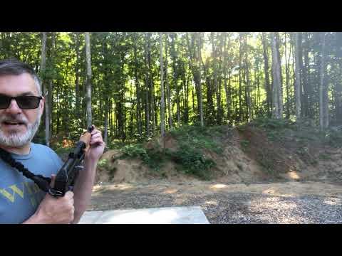 Running out the Zastava M85 AK Pistol