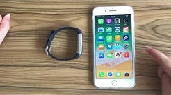 How to pair the device to your phone   moreFit Fitness Tracker Review