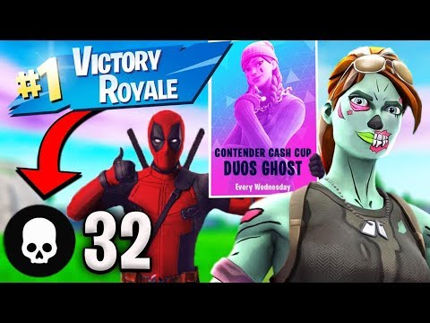 How We Made 32 Kill Win In Duo Cash Cup (Fortnite Tournaments)