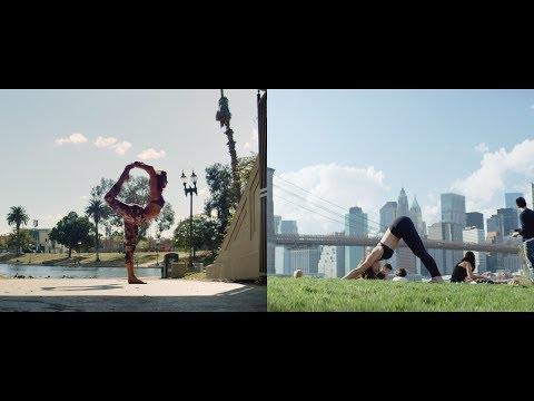 LA VS NYC: YOGA