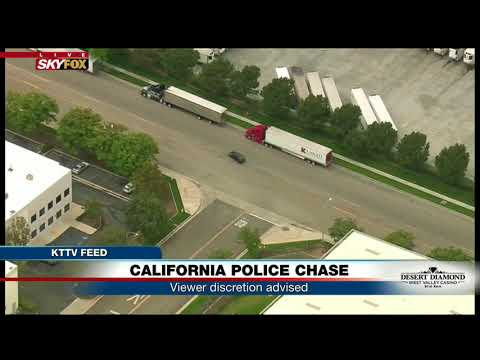 WHAT JUST HAPPENED: CA police chase suspect makes car switch (FNN)