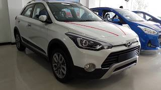 All New Hyundai i20 Active Facelift Top Model|Exterior and Interior|Polar White|Shot in Samsung S9+
