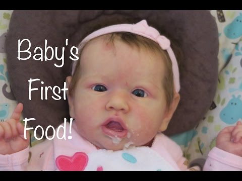 Journey Of A Newborn- Episode 8, Baby's First Food! (An Original Reborn Baby Roleplay Series)