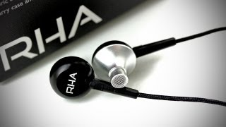 RHA MA-350 Earphones Unboxing & Overview