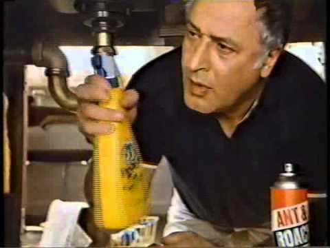 Vic Tayback 1982 No-Pest Pest Control Commercial