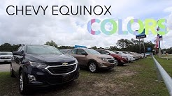Colors of 2018 Chevrolet Equinox | Exterior Paint Colors for 2018 | REVIEW