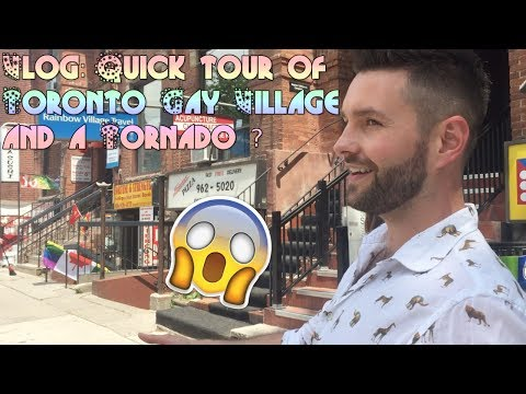 Vlog : Toronto Gay Village quick tour
