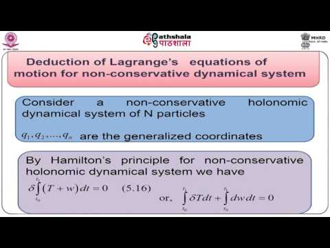 Extended Hamilton's principle and its use  (Math)