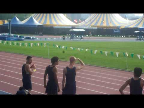 4X800 relay at Icahn Stadium