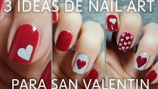 3 ideas para decorar tus uñas de San Valentín en menos de 5 minutos | FÁCIL