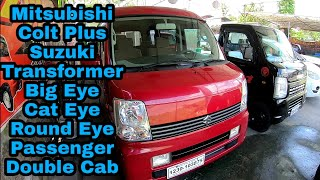 Suzuki Double Cab,Transformer, Big Eye, Scrum, Mitsubishi Colt Plus Price in the 🇵🇭.