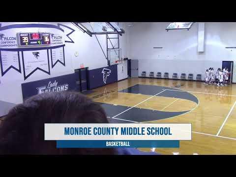 Monroe County Middle School Girls 7th/8th Basketball vs Barren 1/11/2021