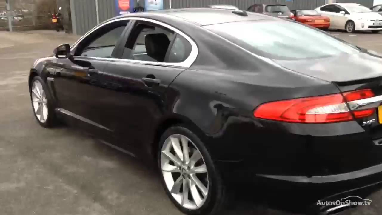 JAGUAR XF V6 S PORTFOLIO BLACK 2012 - YouTube