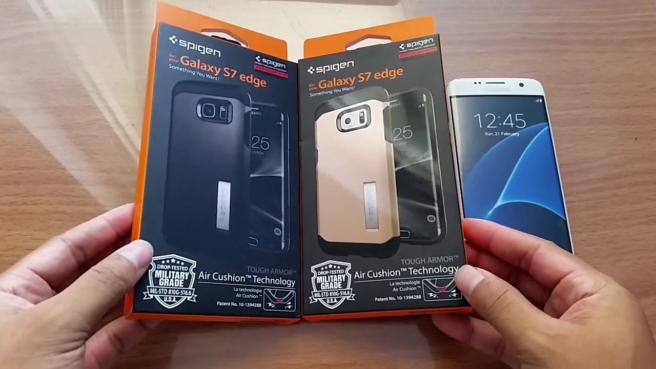 the best attitude 2e156 b4194 เคส Galaxy S7 Edge Tough Armor spigen Case