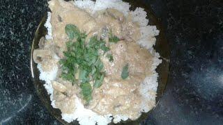 طريقه عمل البيكاتا مع الرز الابيض جميله جدا جربوها