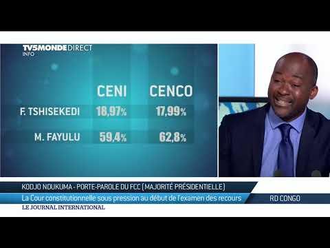 RDC : réaction du FCC aux révélations des véritables résultats de l'élection Présidentielle